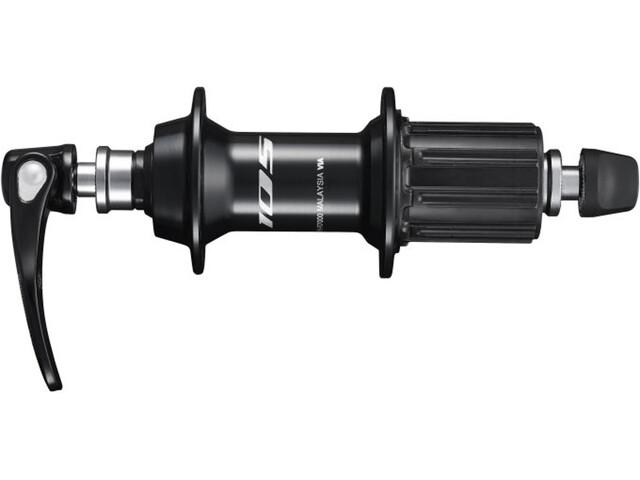Shimano FH-R7000 Nav 10/11-delad svart
